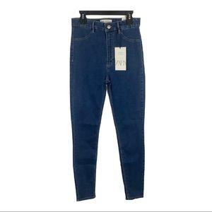 Zara skinny jeans NWT Size 6 Hi-rise Ankle length